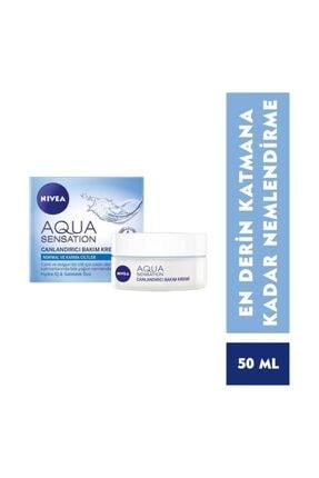 Nivea Aqua Sensation Canlandırıcı Yüz Bakım Kremi 50 Ml 0