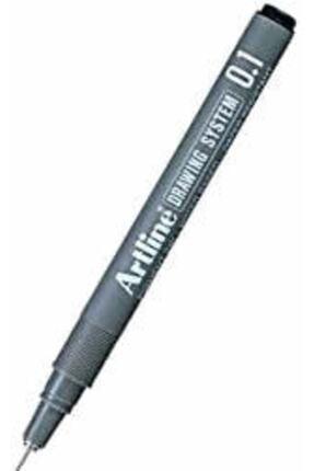 artline Artlıne 0.1 Mm Siyah Çizim Kalemi 0