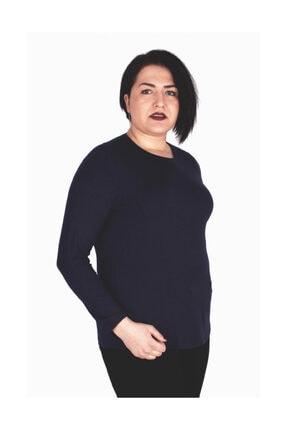 Günay Giyim Kadın Lacivert Bluz 0