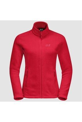 Jack Wolfskin Kadın Kırmızı W Moonrise Jkt Outdoor Sweatshirt 2