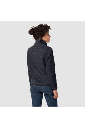 Jack Wolfskin Kadın Siyah Outdoor Spor Sweatshirt 1