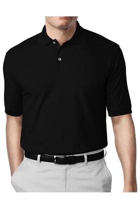 İgs Erkek Siyah Modern Fit Polo Yaka T-shirt 0