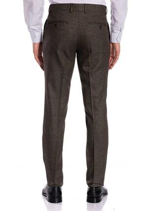 İgs Erkek Kahve Slim Fit Pantolon 1