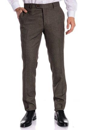 İgs Erkek Kahve Slim Fit Pantolon 2