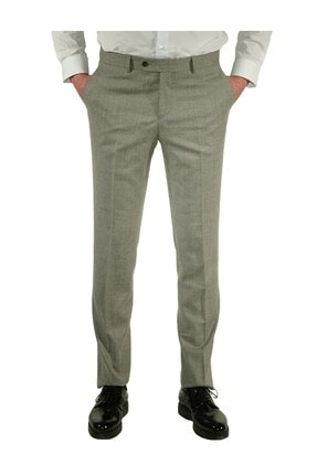 İgs Erkek Gri Regular Fit Exclusive Pantolon 0