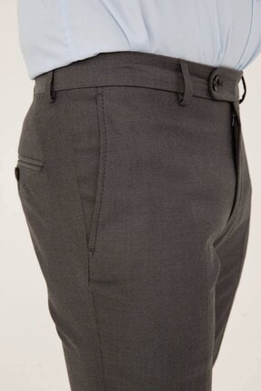 İgs Erkek Duman Gri Rahat Kalıp Pantolon 2