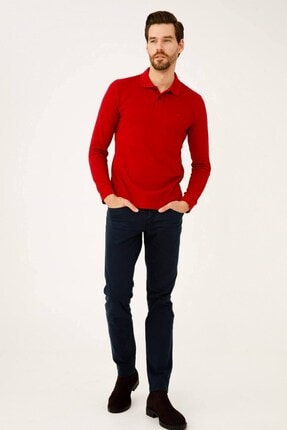 İgs Erkek Lacivert Dar Kalıp Pantolon 0