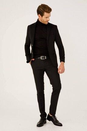 İgs Erkek Siyah Rahat Kalıp Pantolon 2
