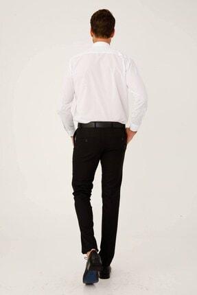 İgs Erkek Siyah Slım Fıt Dar Kalıp Std Pantolon 1