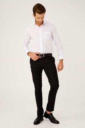 İgs Erkek Siyah Slım Fıt Dar Kalıp Std Pantolon 2