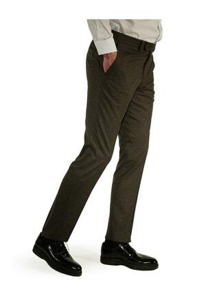 İgs Erkek Kahverengi Regular Fit Pantolon 1