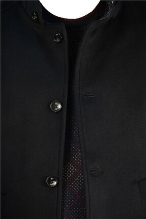 İgs Erkek Lacivert Slim Fit Palto 1
