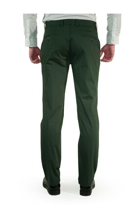 İgs Erkek Yeşil Regular Fit Pantolon 3
