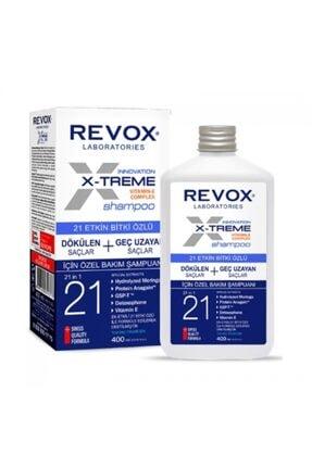 Revox X-treme Bitki Özlü Özel Bakım Şampuanı 400ml 0