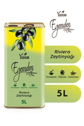 Yudum Riviera Zeytinyağı 5 lt 0