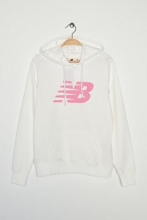 New Balance Kadın Spor Sweatshirt - V-WTH804-WT 0