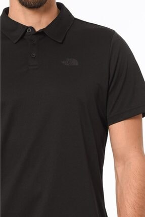 The North Face Tanken Polo Erkek T-shirt Siyah 4