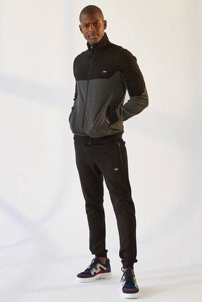 تصویر از Erkek Eşofman Takım Ceket/jogger Antrasıt Melanj