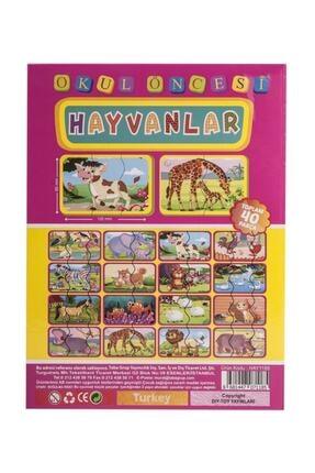 Diytoy Baby Muma 2 Ve 3 Parçalı Hayvan Tamamlama Kartları 1