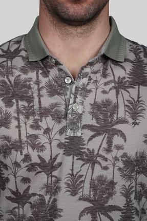 İgs Erkek Bej Modern Fit T-shirt 2