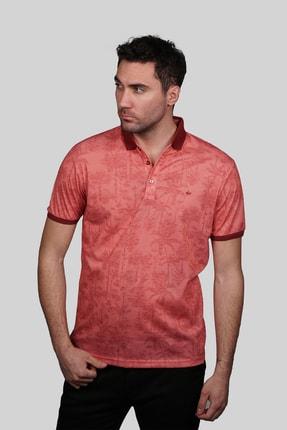 İgs Erkek Somon Modern Fit Polo Yaka T-shirt 0