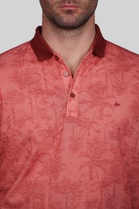 İgs Erkek Somon Modern Fit Polo Yaka T-shirt 3