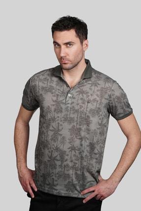 İgs Erkek Haki Modern Fit Polo Yaka T-shirt 1