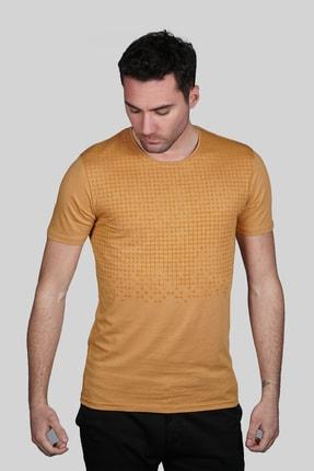 İgs Erkek Bal Slim Fit Tişört 0