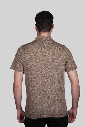 İgs Erkek Taba Modern Fit Tişört 2
