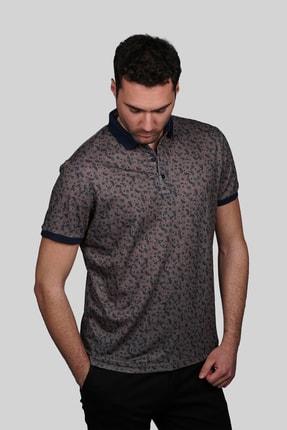 İgs Erkek Açık Kahve Modern Fit Polo Yaka T-shirt 1