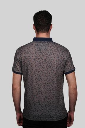 İgs Erkek Açık Kahve Modern Fit Polo Yaka T-shirt 2