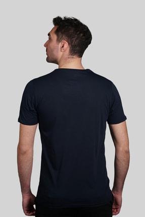İgs Erkek Lacivert Slim Fit Tişört 2