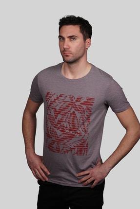 İgs Erkek Mürdüm Slim Fit T-shirt 1