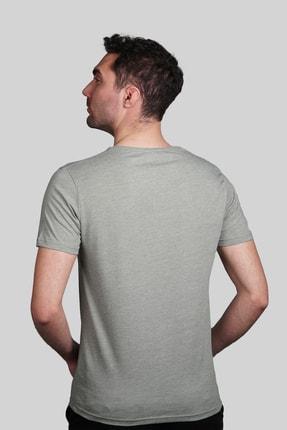 İgs Erkek Yeşil Slim Fit Tişört 2