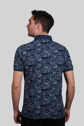 İgs Erkek Marin Modern Fit Polo Yaka T-shirt 2