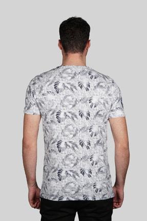 İgs Erkek Beyaz Slim Fit Tişört 2