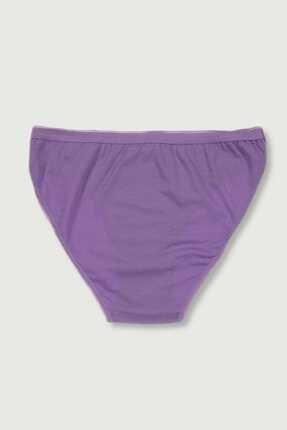 Tutku Kadın Mor 6'lı Paket  Bikini Külot ELF568T0635CCM6 3