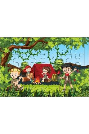 Redro Home 5'li Ahşap Puzzle Set 24 Parça Çiftlik 3