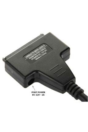 Alfais 5142 Usb 3.0 2.5 3.5 Inç Sata Hdd Ssd Hard Disk Çevirici Dönüştürücü Kablosu 1