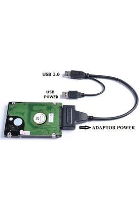 Alfais 5142 Usb 3.0 2.5 3.5 Inç Sata Hdd Ssd Hard Disk Çevirici Dönüştürücü Kablosu 2