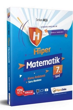 Hiper Zeka Yayınları Hiper Zeka 7.sınıf Hiper Matematik Konu Anlatımlı & Sb » 0