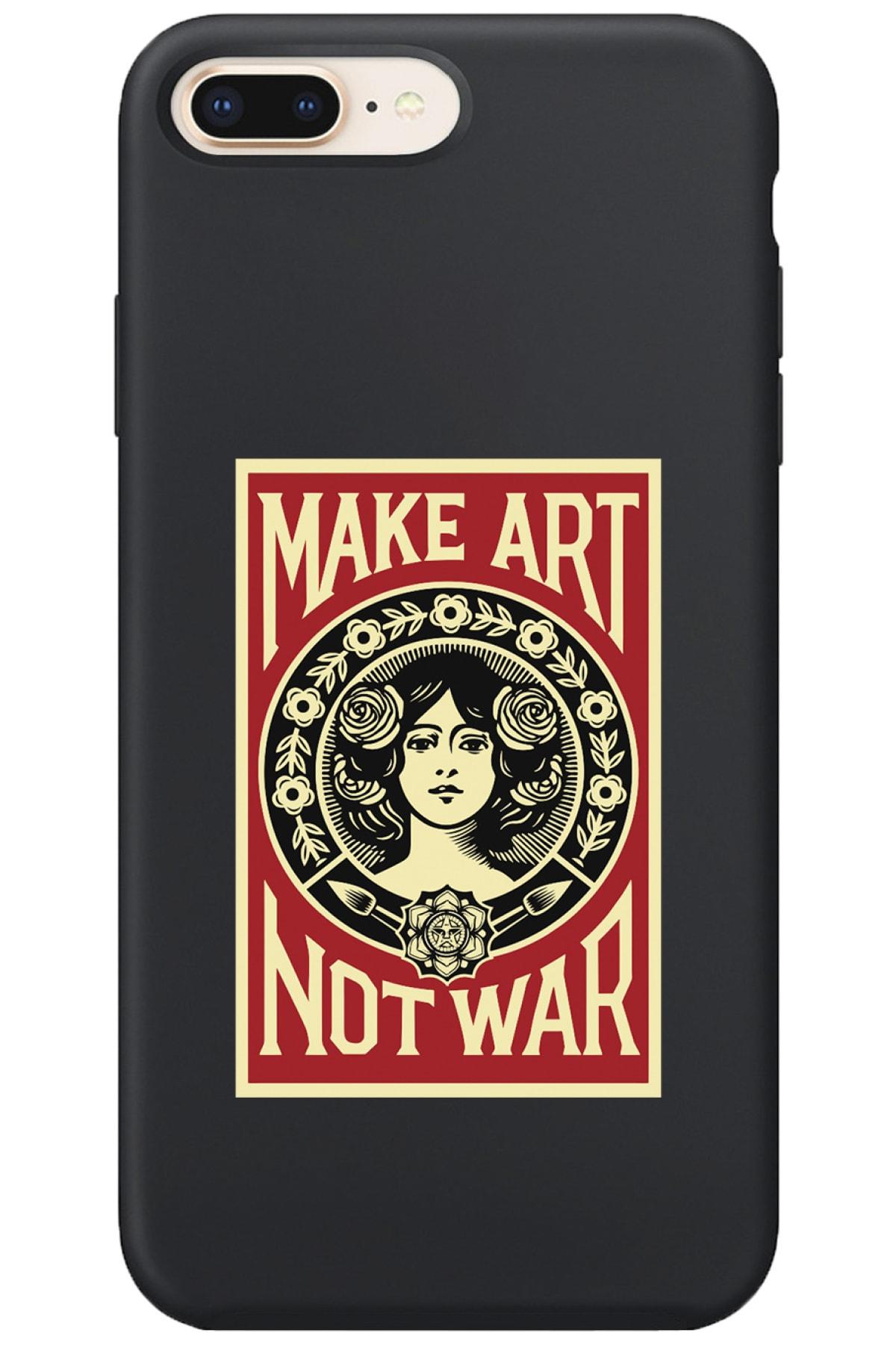 Iphone 7 Plus Lansman Make Art Desenli Telefon Kılıfı