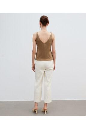 İpekyol Kadın Ekru Yüksek Bel Pantolon 3