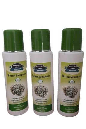 ONLİNE PAZAR %100 Doğal El Yapımı Bıttım Şampuanı 400 Ml. 2