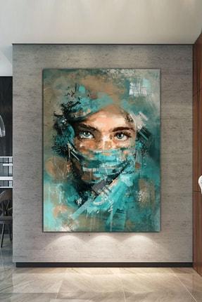 Nazenin Design Yüzler Ve Suretler Sanatsal Kanvas Tablo Portre Kanvas Tablo 1