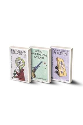 İndigo Kitap 3 Ölümsüz Eser / Dorian Gray'in Portresi - Genç Werther'in Acıları - Bir Delinin Hatıra Defteri 0
