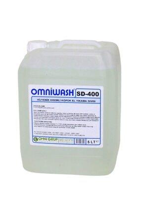 Omniwash Sd-400 5 Litre Hijyenik Köpük Sıvı El Sabunu 0
