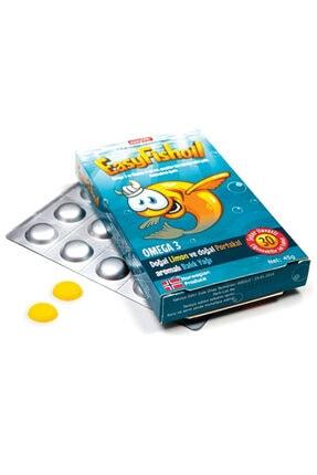 Easy Fishoil Easyfishoil Omega 3 Ve D Vitamini 4-10 Yaş 45 Gr 1