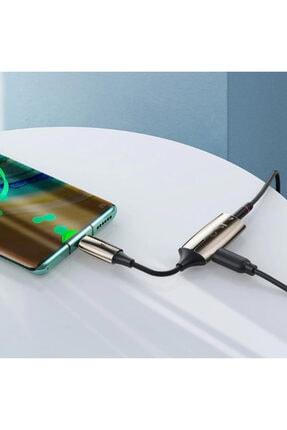 Ally Mobile Baseus L60s Hızlı Şarj 2-in-1 Type-c To 3.5mm Kulaklık Ve Şarj Dönüştürücü Başlık 4