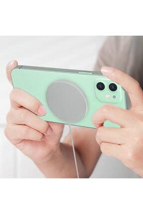 Ally Mobile Ally Iphone 12,12 Pro Max 15w Magsafe Kablosuz Wireless Hızlı Şarj Cihazı 4